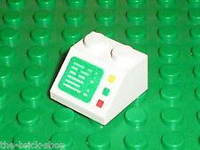 LEGO space white Slope Brick 3039p23 / Set 6783 6542 4555 6971 6560 6456 6980 ..