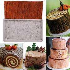 Brick Wall Wood Grain Impression Mat Cake Embosser Fondant Icing Sugar Mould LE