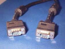 Super VGA cable Male to Male W/Ferrite core 15 feet