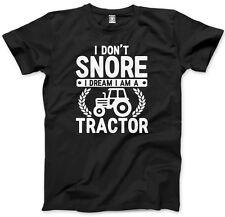 IO non Russare IO SOGNO HO TRATTORE Da Uomo Unisex T-shirt