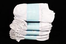 6-8 Kid's Boys Girls Low Cut No Show Comfort White Socks Cotton Spandex Junior
