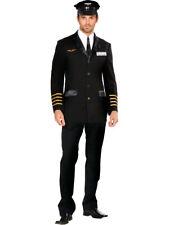 Adult's Mens Mile High Club Airline Pilot Hugh Jorgan Costume