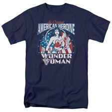 DC Comics Wonder Woman American Heroine Adult T-Shirt Tee
