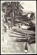 Dutch New Guinea, IFAR BESAR, Kampong (ca. 1950) ppc