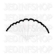 Ear Taper Lobe Stretcher - Straight O-Ring | 1.6mm-10mm | White Acrylic
