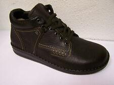 Finn Comfort Scarpe Con Fodera In Pelle Modello Linz MARRONE LEGNO genarbt & sacchetto scarpa