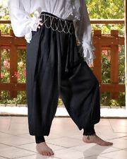 Harem Pants Unisex Medieval Renaissance Pirate XS-XXXL Rayon NEW MC1016