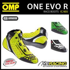 NEW! IC/805 OMP ONE EVO R FORMULA RACE RALLY BOOTS - ULTRA SOFT & ULTRA LIGHT!