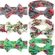 Miss NIKKI - Baby Girls Soft Cotton Floral Bow Statement Headband