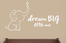 Elephant and Dream BIG Little One Wall Decals Nursery Decor
