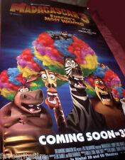 Cinema Banner: MADAGASCAR 3 EUROPE'S MOST WANTED 2012 David Schwimmer