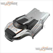 TeamMagic E6 III HX Body Shell Cover - Metal Gray #505246MG (RC-WillPower) Dirt