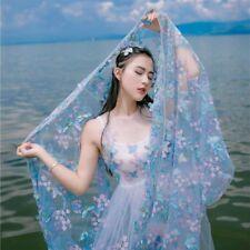 3D Schmetterling Stickereien Stoff Spitze Tüll Hochzeit Partykleid Kostüm von