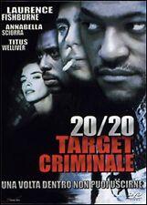 Dvd **20/20 TARGET CRIMINALE** nuovo sigillato 2000