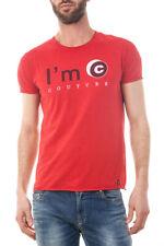 T-shirt La'm C Couture t-shirt Sweat-shirt -45% Homme Rouge IMC2060