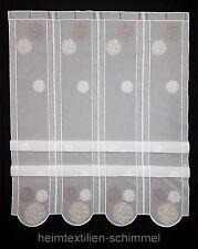 Clip Panneaux Scheibengardine Gardine Scheibenhänger Raffrollo verschiedene Maße