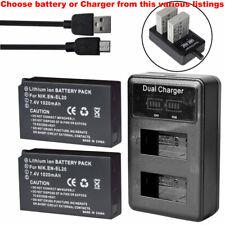 EN-EL20 ENEL20 Battery Or LCD Charger for Nikon 1 J1, 1 J2, 1 J3, 1 S1 Coolpix A
