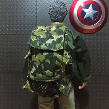 Shoulder Scale Camouflage Figure Action 1:6 Bag Backpack Trend Toy