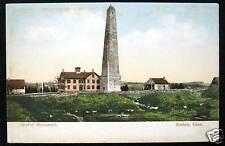 Groton Ct ~ 1900's Groton Monument ~ Town