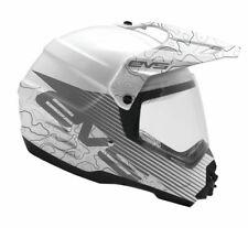 EVS T5 Dual Sport Venture Arise Helmet White Enduro Adventure All Sizes
