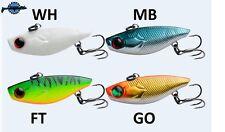 Leurre poisson nageur lipless Silent Viber 4cm 5gr pêche verticale perche truite
