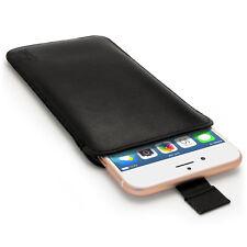 Cuero Funda Bolsa Carcasa para Apple iPhone 6 Plus, 6S Plus & 7 Plus Piel Cover