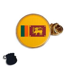 SRI LANKA CEYLON FLAG ENAMEL LAPEL PIN BADGE GIFT