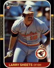 1987 Donruss Baseball (248-497) Pick From List