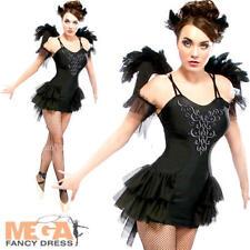 BLACK SWAN LAKE Ballerina Donna Costume Halloween Costume Adulti Da Donna Nuovo
