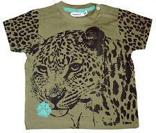 NEU! name it T-Shirt Kurzarm Shirt Baumwolle khaki Gr.74 80 86