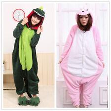 DINOSAUR Unisex Onesie Kigurumi Fancy Dress Costume Hoodies Pajamas Sleep wear