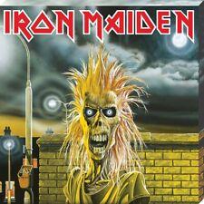 Iron Maiden First Album Classic Cover Canvas Print 40 x 40 x 2.5cm