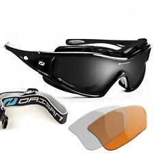 Daisan Gletscherbrille Kategorie 4 Multisportbrille Band + Polsterung Wechselsys