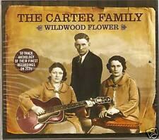 THE CARTER FAMILY WILDWOOD FLOWER - 2 CD BOX SET