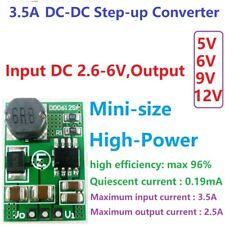 3.5A DC-DC Step-up Boost Voltage Converter Module 3V 3.3V 3.7V to 5V 6V 9V 12V