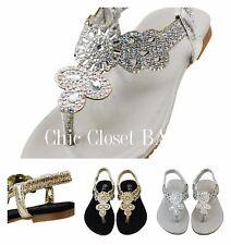 Little Girls BABY Infant Crib Shoes Jewel Sparkling Gladiator Toddler Sandals