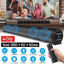 TV Home Bluetooth Sound Bar Theater Soundbar Speaker System Built-in Subwoofer