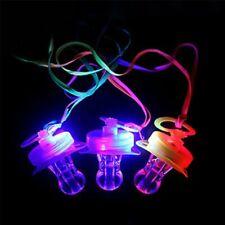 1x Colourful Flashing Rave Party Led Light Dummy Shaped Gift Torch Free UK P&P