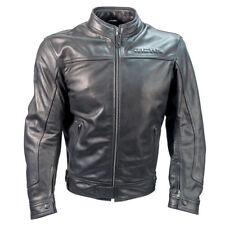 Richa CAFE RACER style rétro moto cuir Veste Noir