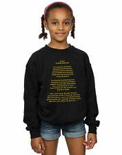 Star Wars Girls The Empire Strikes Back Opening Crawl Sweatshirt