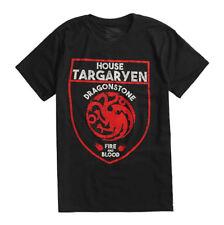 Game Of Thrones TARGARYEN DRAGON SHIELD LOGO T-Shirt NWT Licensed & Official
