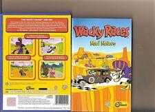 Wacky Races MAD MOTORI PLAYSTATION 2 PS2 PS 2 RACING Dastardly ricamate