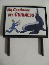My Goodness, My Guinness (Seal) - Model Railway Billboard - N & OO Gauge
