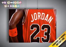 Poster MICHAEL JORDAN NUMERO 23 LEGENDE