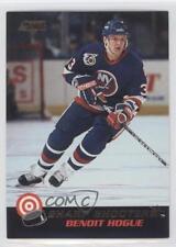 1992-93 Score Canadian Sharp Shooters #21 Benoit Hogue New York Islanders Card