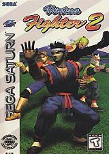 Virtua Fighter 2 RARE FIGHTING Game for Sega Saturn System 1996