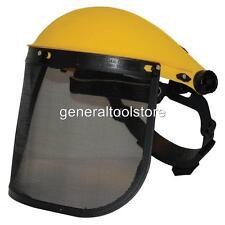 Rete METALLICA VISIERA completamente regolabile BROW Guard HEAD FACE protezione non CASCO