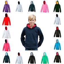 Kids Hooded Sweatshirt Childrens Plain Hoodie Blank Hoody Hoodie Varsity Jumper