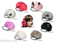Ohrenwärmer Plüsch Ohrenschützer Farben