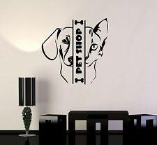 Vinyl Wall Decal Pet Shop Animal Cat Dog Stickers Mural (ig3402)
